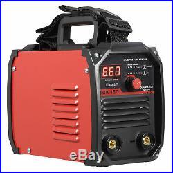 Porable Mini 110V 220V DC Inverter Welder Mini Handheld Arc Welding Machine