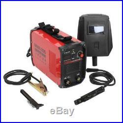 Portable ARC Welding Machine 110V/220V Inverter DC 200AMP Electric Welder + Mask