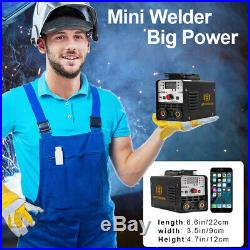 Portable Mini ARC Welder 220V MMA Stick IGBT Inverter ARC Welding Machine Kit
