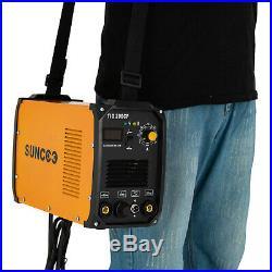 Portable TIG-Torch/Stick Arc Welder 110V/230V Dual Voltage Welding Machine withLED
