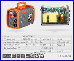 Portable Welding Machine 220V 200Amp TIG ARC MMA Stick IGBT DC Inverter Welder
