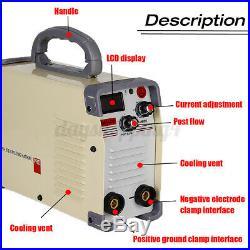 Portable Welding Machine ARC Force Welder Inverter MMA 220V 420Amp Stick IGBT