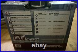 (RI4) Thermal Arc inverter 95-s Portable DC Stick Tig Torch Welder & Case