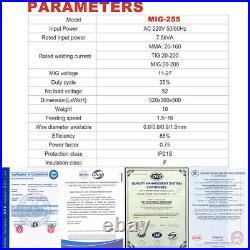 SUSEMSE 3 in1 MIG Welder 110V 220V Gasless Inverter Lift TIG ARC Welding Machine