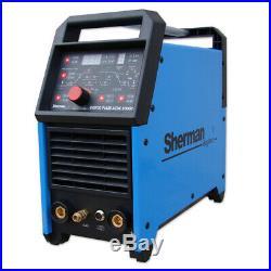 Sherman DIGITIG 200GD 200A AC/DC MMA IGBT welder inverter aluminium 2T4T TIG ARC