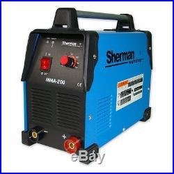 Sherman Inverter Welder Welding Machine ARC MMA 200 200A 230AC 50Hz MMA TIG DC