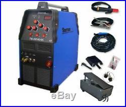 Sherman TIG 201 AC/DC Welder 230 50Hz TIG AC/DC MMA ARC + Foot pedal controller