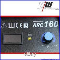 Stahlwerk Schweißgerät Inverter Mma E-hand Elektroden 160 A Profi Welder Arc