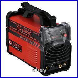 TIG-160DC 160-Amp TIG-Torch ARC/Stick Welder 110/230V Dual Voltage Welding