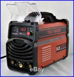 TIG-160DC, 160 Amp TIG-Torch Stick ARC DC Welder 110/220V Welding Soldering New