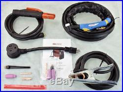 TIG-160DC, 160 Amp TIG Torch Stick Arc DC Welder 110V/230V Inverter Welding New