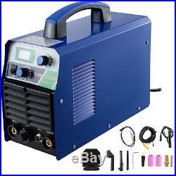 TIG-165S, 160 A TIG Torch/Stick/Arc HF Inverter Welder, 110/230V Welding Machine