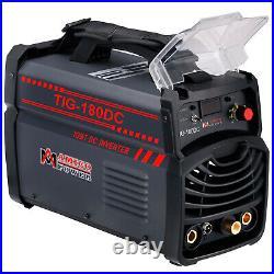 TIG-180 Amp TIG Torch Stick ARC DC Welder 115/230V Dual Voltage Welding