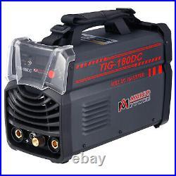 TIG-180DC, 180-Amp TIG-Torch, Stick ARC Inverter DC Welder, 110V & 220V Welding