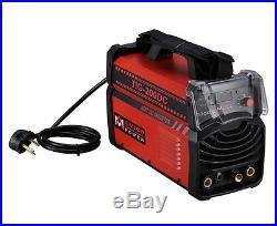 TIG-200DC, 200 Amp TIG Torch Stick Arc DC Inverter Welder, 110V & 230V Welding