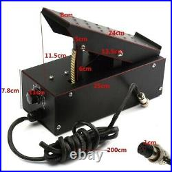 TIG/MMA Welder Consumables Kit Argon Arc Welding Torch Ground Clamp Foot Pedal