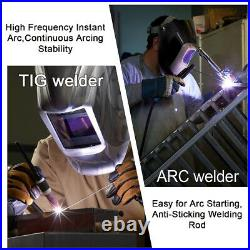 TIG Welder 110V/220V 200A Inverter MMA ARC TIG Welding Machine WithGas Regulator