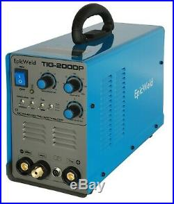 TIG Welder 200 Amp Inverter with Pulse and Stick / Arc Welding Ability