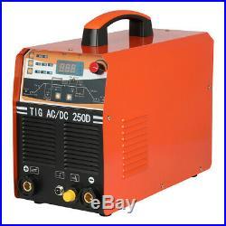 TIG Welder Inverter 250A AC/DC Schweißgerät 2IN1 ARC MMA IGBT Schweißmaschine