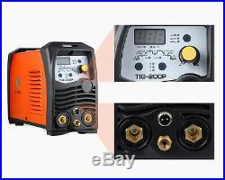 TIG Welder Pulse 220V Inverter Welder IGBT ARC Stick TIG Welding Machine HITBOX