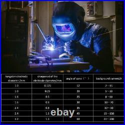 TIG Welders 200AMP 110V/220V Pluse HF Inverter ARC Stick TIG Welding Machine