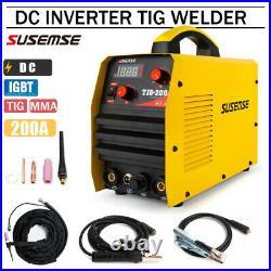 TIG200 TIG/ARC Welders 200A IGBT DC Inverter Welding Machine & Torches 110V/220V