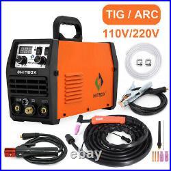 TIG200A TIG Welder LED Display MMA TIG ARC Welding Machine 200AMP 110/220V IGBT