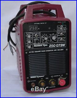 Tig Ac/dc Welder Thermal Arc 250 GTSW 380 Vlts