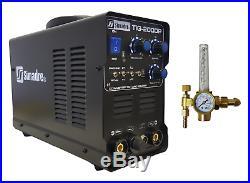 Tig Mma Pulse Welder Simadre 200a Tig200p 110/220v DC Welding Machine Argon Reg