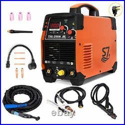 Tig Welder, 200 Amp HF Portable (110V/220V) Tig&Arc Inverter Welding Machine