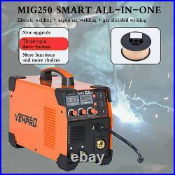 US MIG 200A Inverter DC Welder 3-IN-1 MMA TIG Gas Gasless Arc Spool Gun Welding