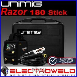 Unimig Razor 180 Welder Arc Tig Stick Inverter Mma Razorweld Caddy Kumjrrw180ca