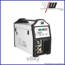 VECTOR Schweißgerät DC MIG MAG WIG R231 Inverter TIG ARC MMA STICK WELDER 5KG
