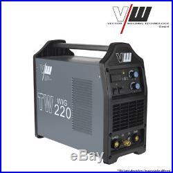 VECTOR Schweißgerät DC WIG TW220 Inverter TIG MMA ARC Elektrod INVERTER