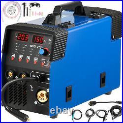 VEVOR 3 in 1 MIG Welder 110V 220V Gasless Inverter Lift TIG ARC Welding Machine
