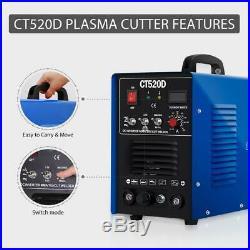 VIVOHOME CT520D Plasma Cutter TIG ARC STICK MMA Welder Welding Inverter 110/220V