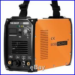 VIVOHOME TIG Welder 200A MMA/STICK/ARC Welding Machine Inverter DC Dual Voltage