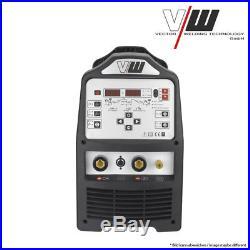 Vector Digital Schweißgerät AC/DC WIG V241 Puls Inverter ALU WIG ARC MMA STICK