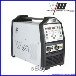 Vector Schweißgerät AC/DC WIG V241 Puls Inverter ALU HF TIG ARC MMA STICK WELDER