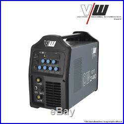 Vector Schweißgerät DC WIG OW240 Puls Inverter mit Plasmaschneider WIG ARC MMA
