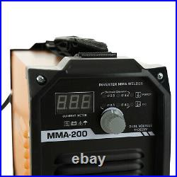 Welding Machine 200 Amp DC Inverter Mini Handheld Welder Arc 110V 220V MMA IGBT