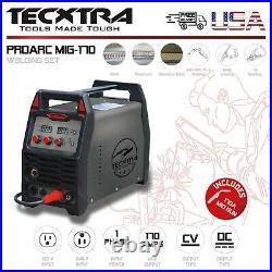 Welding Machine MIG 170 Set Tecxtra Inverter ARC MAG TIG MMA DC AC 120/240V USA