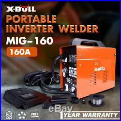 X-BULL MIG 160Amp Inverter Welder ARC Metal Welding Machine Portable